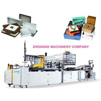 chipboard box making machine(ZHONGKE)