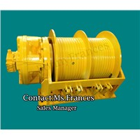 12 ton double drum hydraulic winches