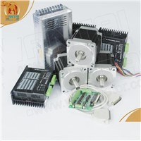 Nema34 stepper motor+drive+power supply CNC Kits & Mill & Cutting & Engraving machine
