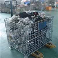 material handling wire mesh cage for warehouse