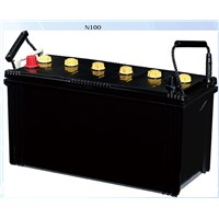 12V 100Ah Maintenance Free Car Battery
