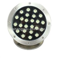 24W LED Underwater Light Swimming Pool Light Fountain Light