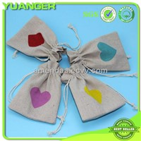 Eco-friendly Easy Carry Cheap Drawstring Hessian Sacks For Nuts Exporter