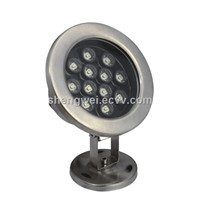 Epistar/Bridgelux Chips 12W LED Underwater Spot Light for Landscape