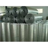 Fireproof Roof construction building pure aluminum foil double bubble thermal Insulation Material