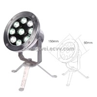 High Quality 9W LED Underwater Light,9W LED Fountains lamp