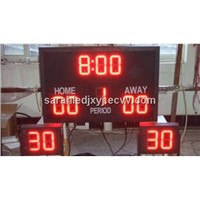 Led waterpolo electronic scoreboard