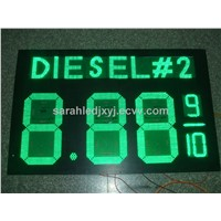Outdoor gas station led price digital sign