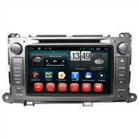 Factory 2 Din GPS Android CD DVD Player In Car Multimedia for Toyota Sienna