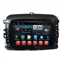 Wholesale In Dash Car Radio Android Stereo DVD Player with GPS Bluetooth Wifi for Fiat 500