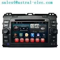 Wholesale Touch Screen Car Stereo Navigation DVD Player Toyota Prado 120 Android 4.2 System