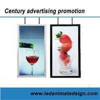 Led illuminated Advertising poster light box