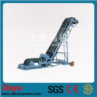 Corrugated Sidewall and Cleated Belt Conveyor