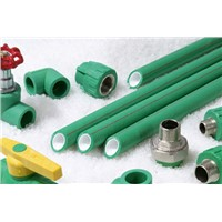 NF-PPR fiber reinforced anti-bacterial pipe