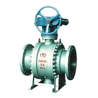 Trunnion Ball Valve, Reduced Bore, Cast Steel