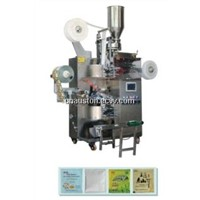 Automatic Tea bag Packing Machine with Thread, Tag, inner & Outer Envelope