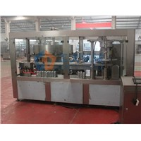 Cans filling sealing monoblock machine