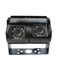 Dual Lens Angle Bus Truck Vehicle Rear View Camera