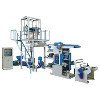 SJ/YT Series film blowing and flexographic printing machine Production line