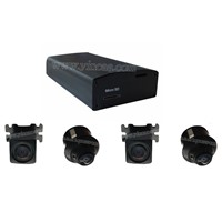 Vehicle 360 Degrees Bird View DVR/AVM System