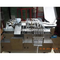 ampoule drawing, filling and sealing machine