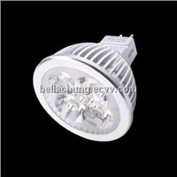 Factory direct sale 360lm MR16 base 4*1W LED Spot light
