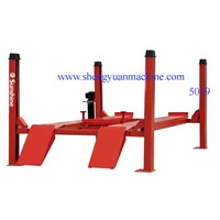 Four  Post Alignment Car Lift Table