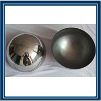 gazing stainless steel half sphere / 304 hollow steel half ball