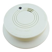 Standalone Photoelectric Smoke Detector Fire Alarm Sensor for Home Kitchen Bedroom Suitable