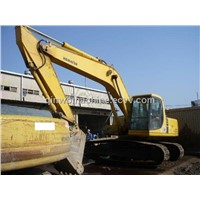supply used komatsu excavator pc200-6