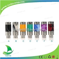 2014 New  drip tip Wide bore mouthpiece for vaporizer exgo w3 510 SS + Viscolor drip tip