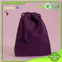 Wholesale small velvet bags with drawstring, mini velvet jewelry pouches