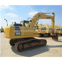Supply used japan made komatsu excavator pc220-8