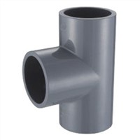 CPVC ASTM SCH80 Standard Water Supply Fittings equal tee