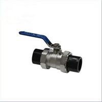 HDPE SOCKET FITTING Double ends ball valve