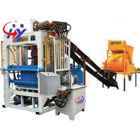 Hollow block shaping machine