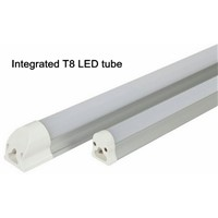 New style T8 LED  integrated tube,600mm/1200mm LED T8 integrated tube,9W/18W,3000K/4000K/6000K