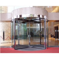 SWE-Three wings automatic revolving door