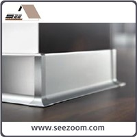 10cm Aluminum decorative skirting board