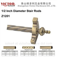 1/2 Inch Diameter Stair Rods