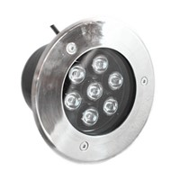 7W Round Waterproof LED Underground Lamp LED