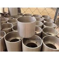 Cast iron drum for rice hulling roller, CI rice rubber roller drum