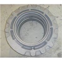 Cast iron wheel hub for excavator, CI housing sprocket for excavator, wheel hub