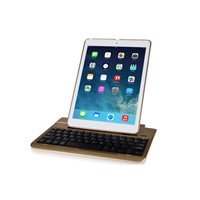 Hot Selling 360 Degree Rotate Multifunctional Bluetooth Keyboard Case For iPad Air