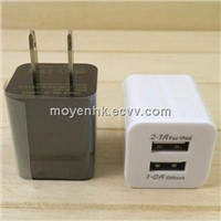 Universal Dual USB Charger for cell phones