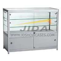 Wooden Showcase Cabinets with Tempered Glass