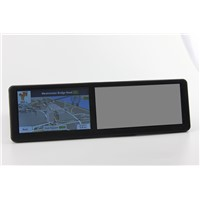 5 inch rearview mirror GPS with bluetooth AV IN