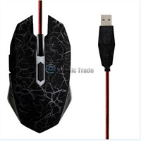 1600DPI Optical Adjustable 6D Button Wired Gaming Game Mice Mouse for Laptop PC