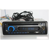 24V one din car dvd player with bluetooth FM AM karaok USB