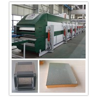Phenolic sandwich panel machine